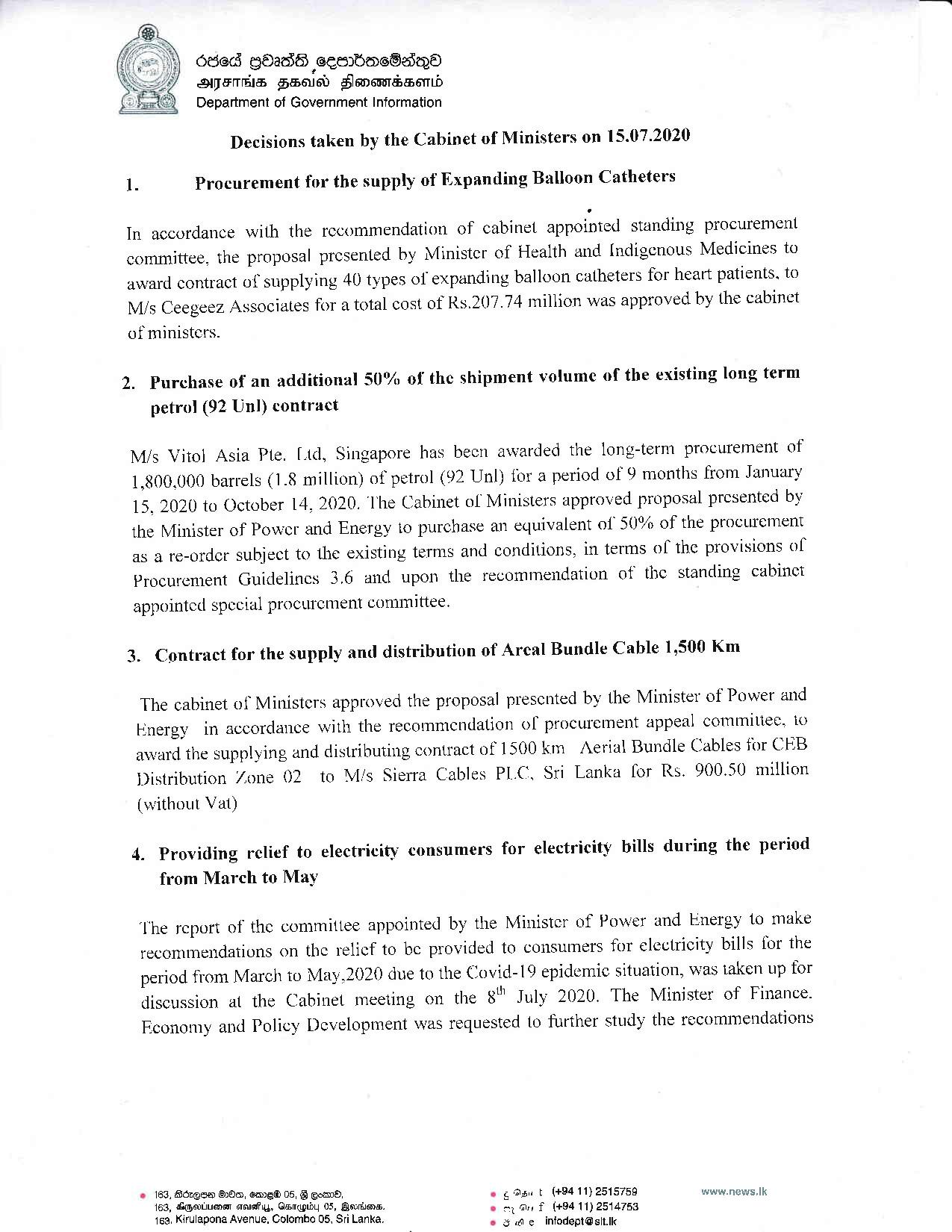 Cabinet Decision on 15.07.2020 English page 001