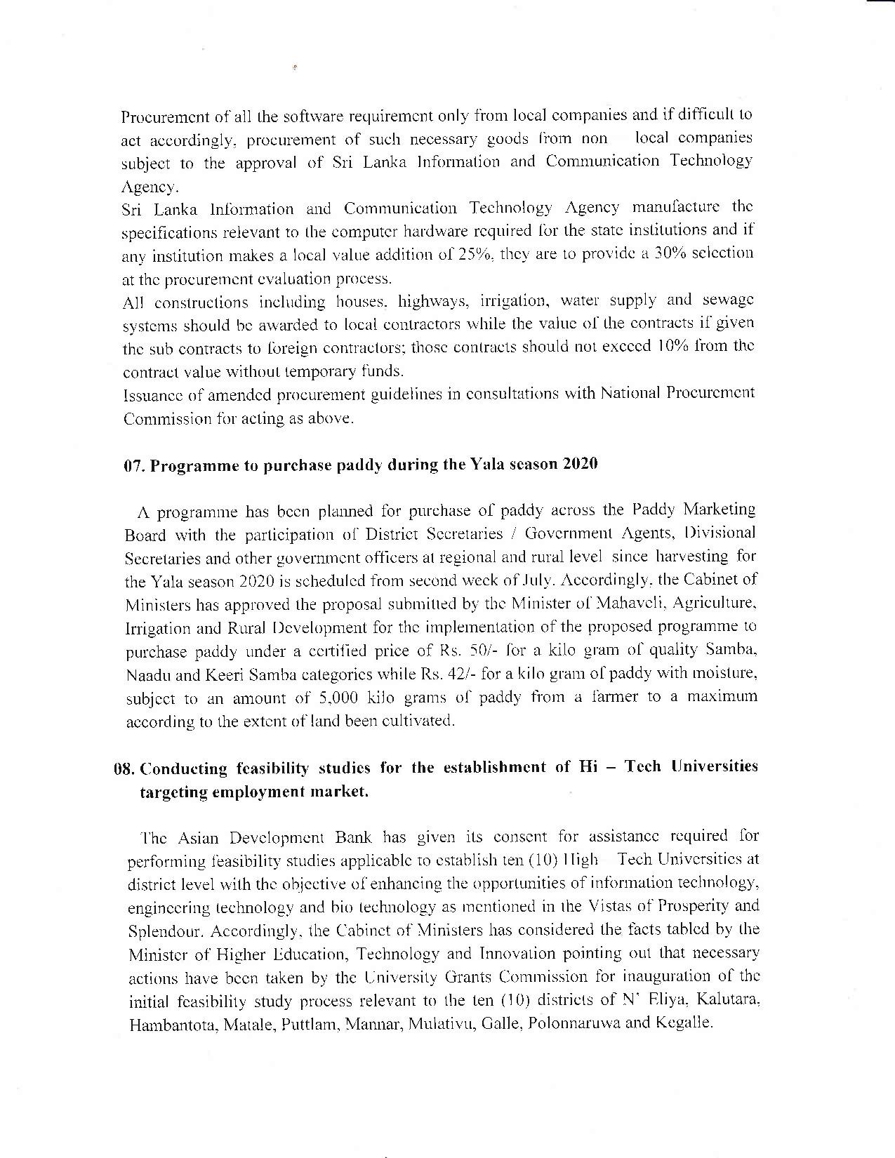 Cabinet Decision on 15.07.2020 English page 003