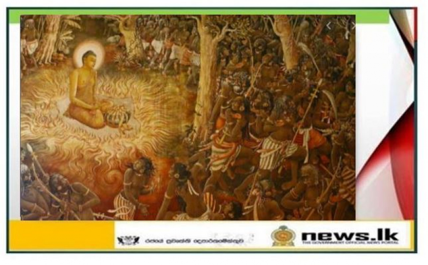 Today is Duruthu full moon Poya Day