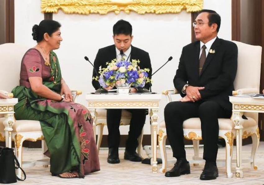 Thailand Stands Ready to support Sri Lanka's Development says Thai PM