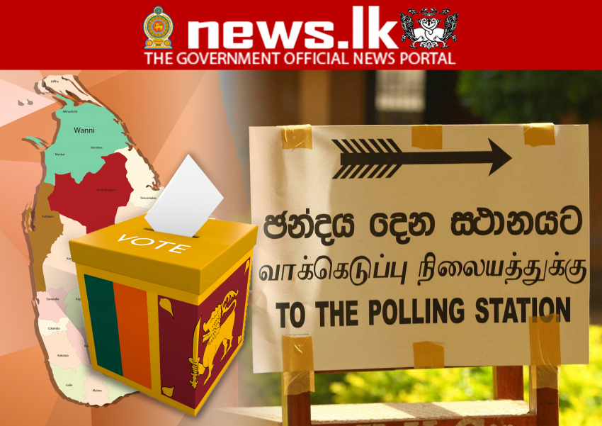 Election 2020- today - 12,985 polling stations across the island