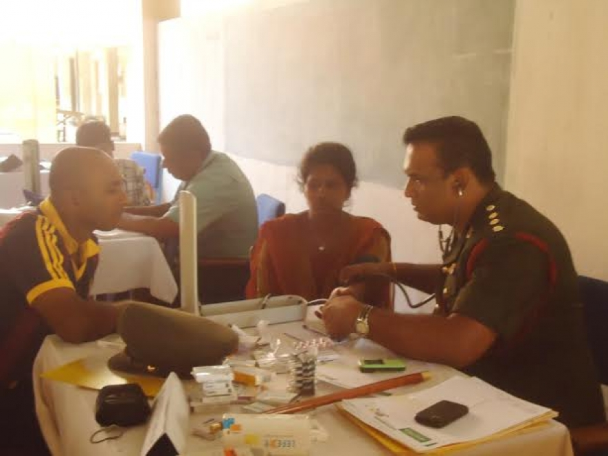 Army Brings Specialists from Colombo to Conduct Heart Clinics for Civilians