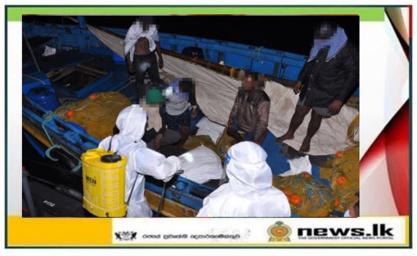 Navy seizes over 1372kg of dried turmeric attempted to be smuggled by sea