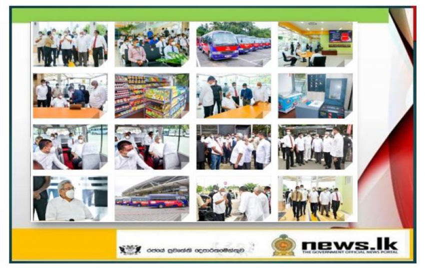 """""""Park & Ride"""": bus service to ease traffic congestion launched under President's patronage"""