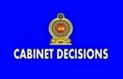 Decisions taken by cabinet of Ministers on 29.10.2019
