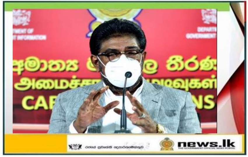"""""""Constitution is the right of the citizens of Sri Lanka and the sovereignty lies within the people of Sri Lanka, not anybody else"""" - Minister Keheliya Rambukwella"""