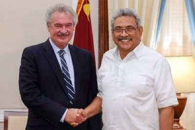 Luxembourg, Sri Lanka discuss strengthening bilateral ties