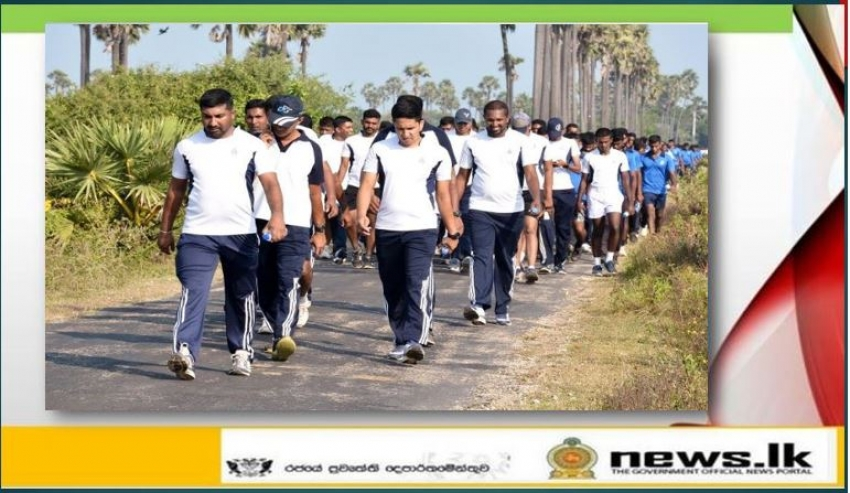 'Uththara Walk' organized in Northern Naval Command comes to successful end