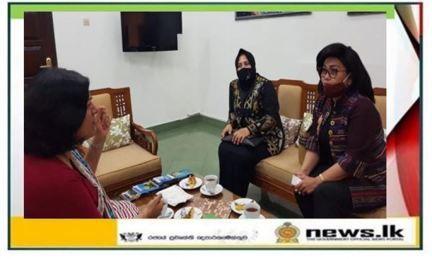 Sri Lanka's Ambassador meets with Indonesian Deputy Minister for Production and Marketing