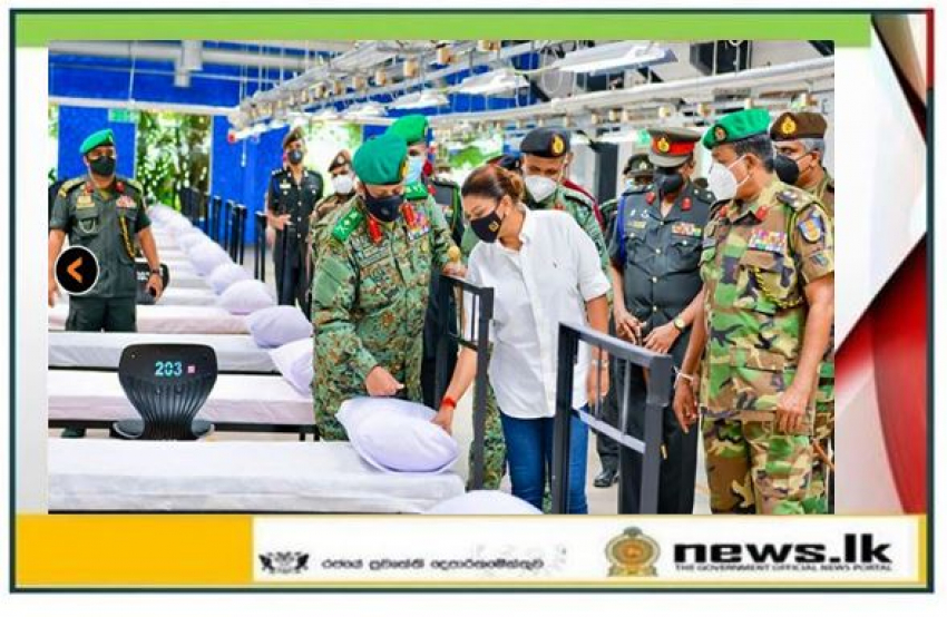 Head, NOCPCO Supervises Final Touches at Army-improvised Biggest COVID-19 Hospital