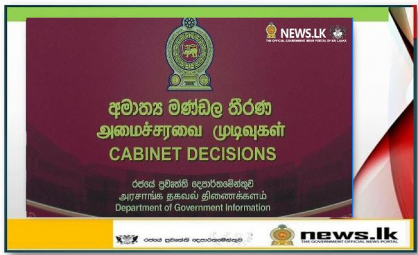Cabinet Decisions on 14.06.2021