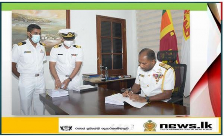 Rear Admiral Sanjeewa Dias takes over command of Eastern Naval Area